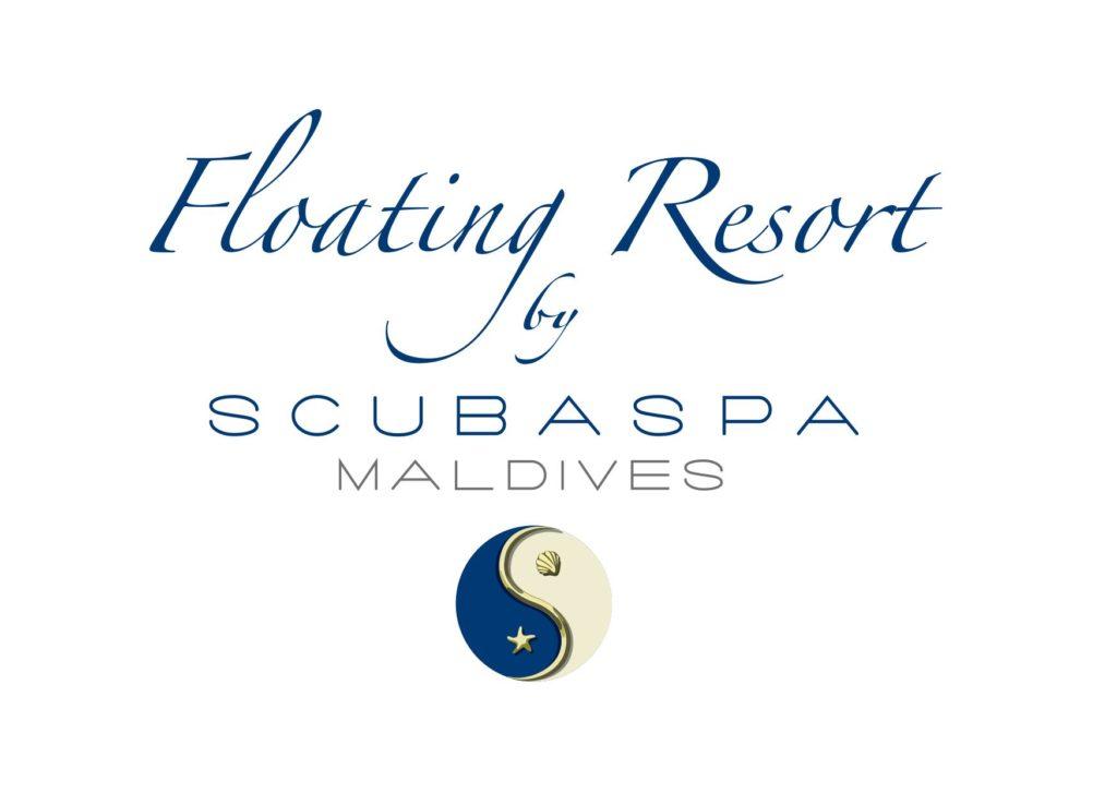 Scubaspa logo blue
