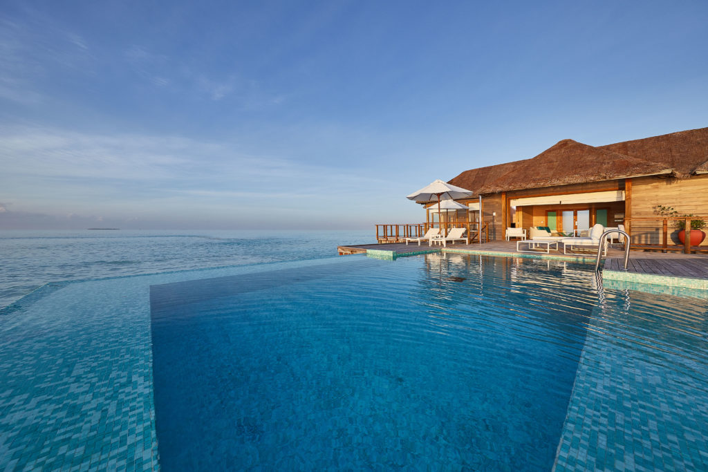 CONRAD MALDIVES RANGALI ISLAND_Villas_Sunset Water Villa_Pool Deck Day_credit Justin Nicholas_High Res