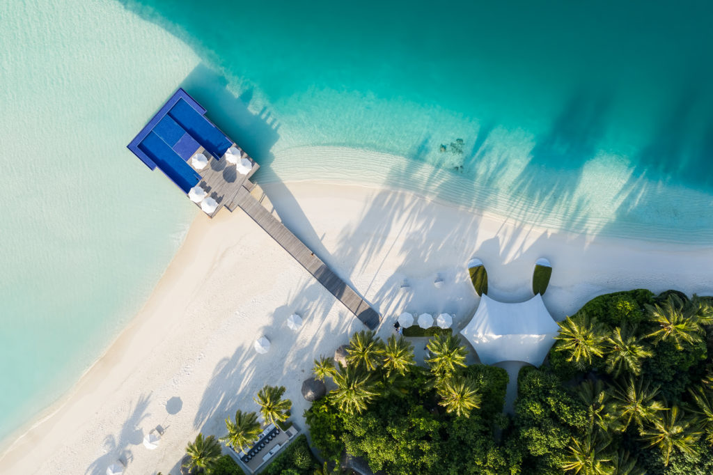 CONRAD MALDIVES - The Quiet Zone_Aerial_credit Justin Nicholas - hi-res