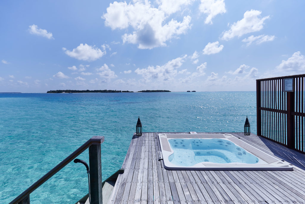 CONRAD MALDIVES _Retreat Water Villa_Deck_Clean_credit Justin Nicholas - hi-res