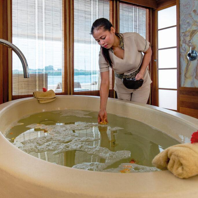 Spa bathtub RGB